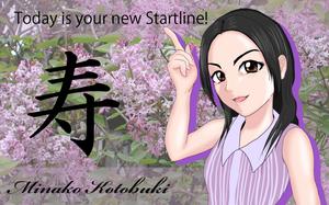 寿美菜子20歳の誕生日記念イラスト