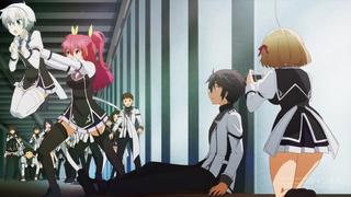 落第騎士の英雄譚2話のステラ・ヴァーミリオン&黒鉄珠雫