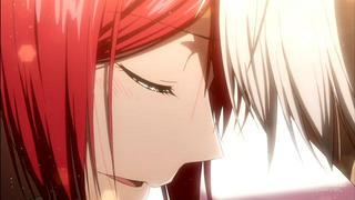 赤髪の白雪姫22話の白雪(横顔)