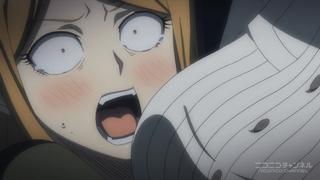 だがしかし8話の遠藤サヤ(絶叫)