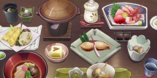 花咲くいろは第13話の料理