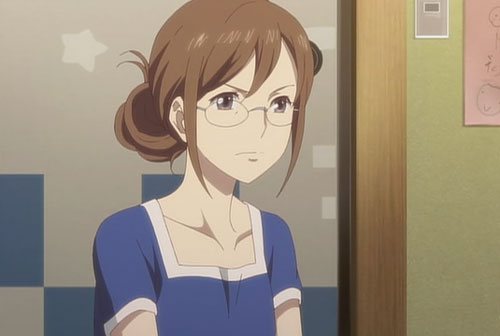 花咲くいろは第18話の菜子母(佳代子)