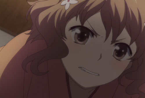 花咲くいろは第2話の緒花「言えぇぇぇぇぇぇっ!!!」