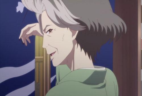 花咲くいろは第8話のドヤ顔女将