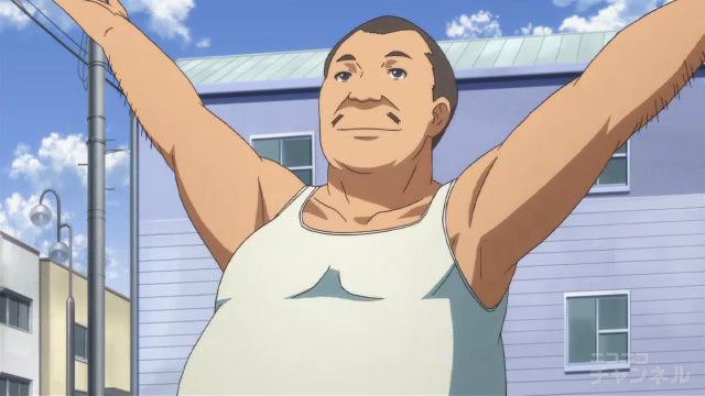 夏色キセキ2話のラジオ体操のおっさん