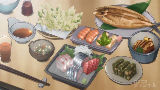 夏色キセキ9話の夕食