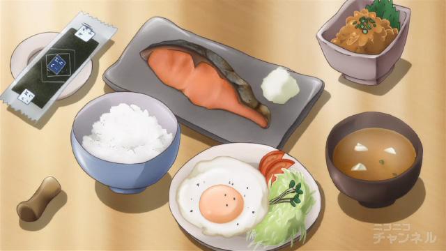夏色キセキ9話の朝食