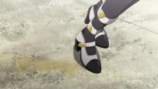 だがしかし8話の枝垂ほたるの靴